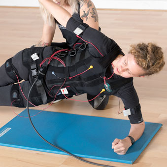 EMS fitness rapid fat loss - Electro-Muscle Stimulation