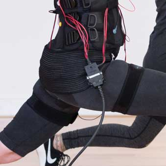EMS Fitness reduce cellulite - Electro-Muscle Stimulation