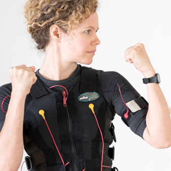EMS fitness strengthens muscles - Electro-Muscle Stimulation